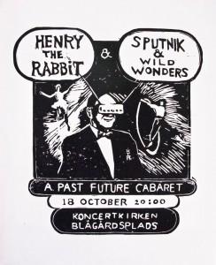 a past future cabaret poster